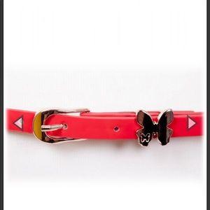 Butterfly Belt In Red